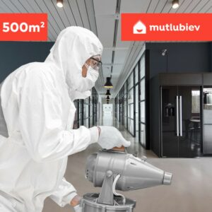 Mutlubiev 500 m2 İş Yeri Nano Dezenfeksiyon Hizmeti