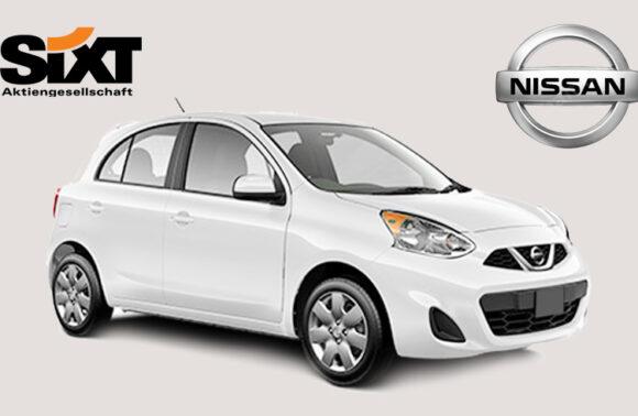Sixt rent a car'dan Nissan Micra Araç Kiralama