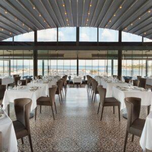 Wyndham Grand Kalamış Otel Ouzo Roof Restoran 2 Kişilik Akşam Yemeği