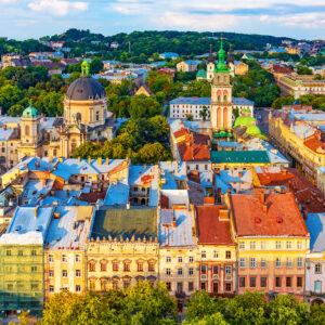 Lviv'de 2 Gece 4 Yıldızlı Otelde Kişi Başı Oda Kahvaltı Konaklama