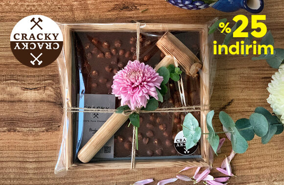 Cracky Chocolate %25 İndirim Kuponu